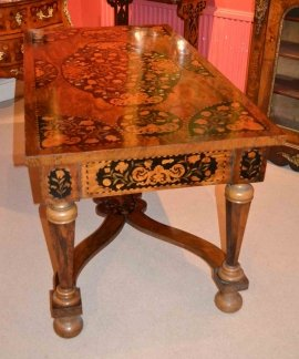 02970-Antique-Dutch-Marquetry-Writing-Centre-Table-c.1800-2