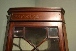 03202-Antique-English-Edwardian-Inlaid-Corner-Cabinet-C1900-9