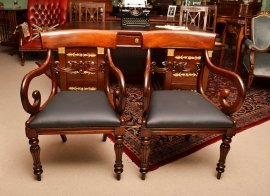 03508-Antique-William-IV-Mahoganyy-Armchairs-C1830---pair-13
