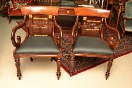 03508-Antique-William-IV-Mahoganyy-Armchairs-C1830---pair-5