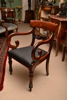 03508-Antique-William-IV-Mahoganyy-Armchairs-C1830---pair-7