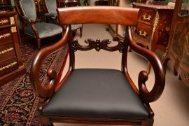 03508-Antique-William-IV-Mahoganyy-Armchairs-C1830---pair-8