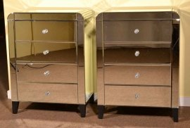03617-Pair-Art-Deco-Mirrored-Bedside-Cabinets-Tables-Chest-1