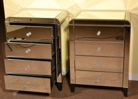 03617-Pair-Art-Deco-Mirrored-Bedside-Cabinets-Tables-Chest-2