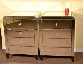 03617-Pair-Art-Deco-Mirrored-Bedside-Cabinets-Tables-Chest-8