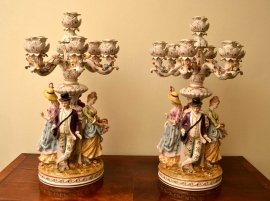 03875a-Superb-Pair-Hand-Painted-German-Dresden-Candelabras-1