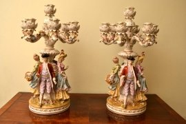 03875a-Superb-Pair-Hand-Painted-German-Dresden-Candelabras-4