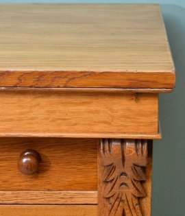 03911-Antique-Victorian-Oak-Wellington-Chest-C-1870-11