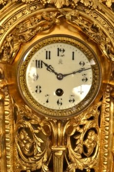 Regent Antiques Clocks Antique French Gilt Bronze