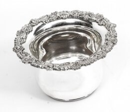 Sheffield Silver Plated English Wine Coaster