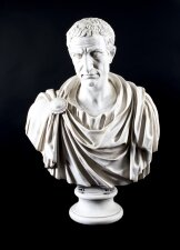 Stunning Composite Marble Bust of the Roman Politician Marcus Brutus