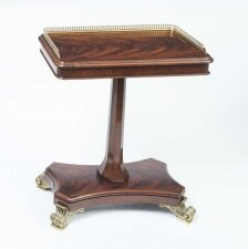 Regency Style Mahogany Occasional Side