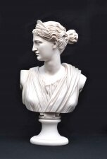 Stunning Marble Bust of Diana