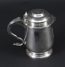 Vintage Benjamin Franklin Silver Plated Tankard& 34 by Franklin Mint 1978