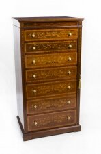 Antique Edwardian Wellington Chest by J Shoolbred