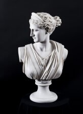 Stunning Marble Bust Diana