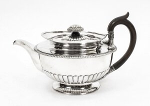 Antique Sterling Silver Teapot Paul Storr 1809