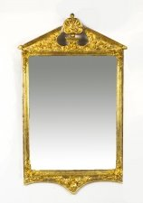 Antique George II Style Gilded Wall Mirror Circa 1870 102 x 60cm