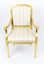 Bespoke Sets of Giltwood Armchairs in the Louis XV Style Available to Order