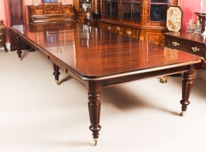 Antique 13 ft William IV Mahogany Extending Dining Table C1830 19th C