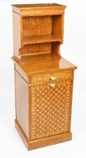 Antique Satinwood Marquetry Inlaid Side Cabinet Waring & Gillow 19th C