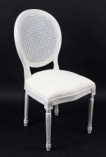Bespoke Painted Dining Chair in the Louis XV Style Available to Order in Sets