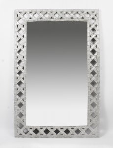 Stunning Large &amp Decorative Venetian Mirror 139 x 91 cm
