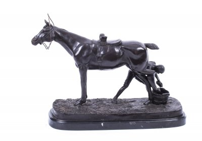 Bronze Horse Statue | Bronze Animal Sculpture | Ref. no. 01820 | Regent Antiques