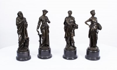 Set of Four Bronze Four Seasons Sculptures | Ref. no. 02904 | Regent Antiques