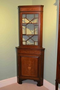 03202-Antique-English-Edwardian-Inlaid-Corner-Cabinet-C1900-1