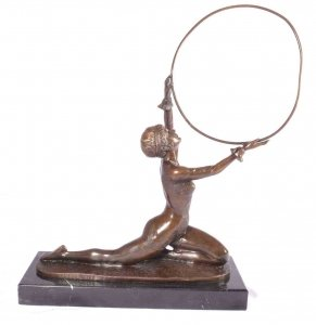 Hoop Dancer Bronze Sculpture After Preiss