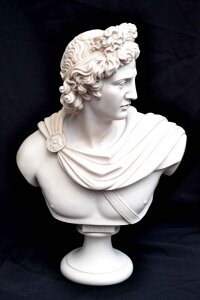 Stunning Marble Bust of Greek God Apollo | Ref. no. 04049