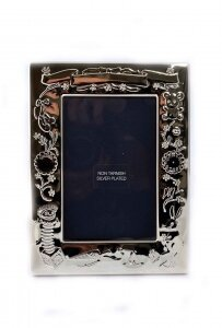 Stunning Silver Plated Child& 39 s Photo Frame Gift