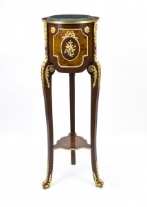 Louis XV Style Kingwood & Walnut Pedestal Stand | Ref. no. 05671a | Regent Antiques