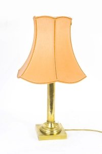 Vintage Brass Lamp 20th Century