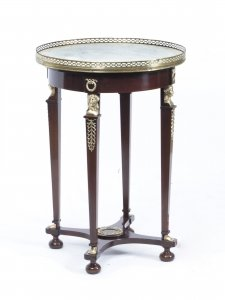 Antique French Empire Marble & Ormolu Occasional Table c.1830 | Ref. no. 07114 | Regent Antiques