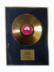 Framed Glen Miller Gold Record First Released in 1939