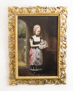 Antique Oil Painting John Horsburgh 1881