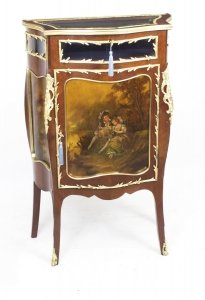 Antique French Vernis Martin Serpentine Bijouterie Side Cabinet  C1880 | Ref. no. 07877 | Regent Antiques