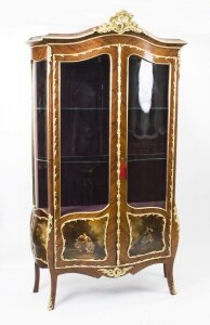 07878-Antique-French-Kingwood-Vernis-Martin-Display-Cabinet-c1880-1
