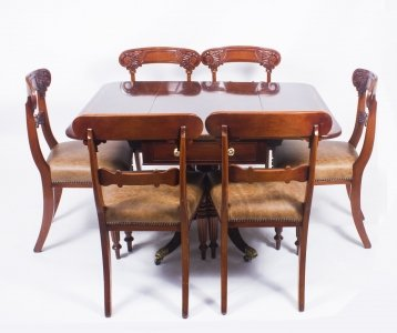 Antique Regency George III Pembroke Table Gillows & 6 Antique Chairs C1820 | Ref. no. 08324a | Regent Antiques