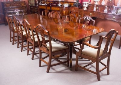 William Tillman Dining Table & Chairs Set | Regency Table & Chairs | Ref. no. 08486