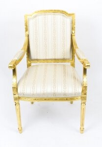 Bespoke Sets of Giltwood Armchairs in the Louis XV Style Available to Order | Ref. no. 08598b | Regent Antiques