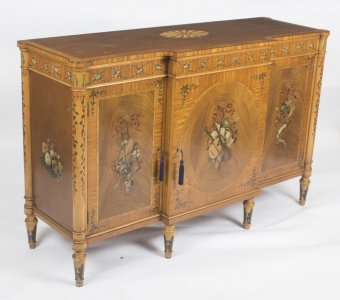 George III style Sideboard Credenza Chiffonier Restall Brown &amp Clennel 20th C