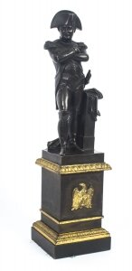 Antique Library Bronze of Napoleon Bonaparte 19th Century