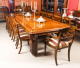 Antique 12ft Elizabethan Revival Pollard Oak Dining Table 19th C and 14 chairs | Ref. no. 09642a | Regent Antiques