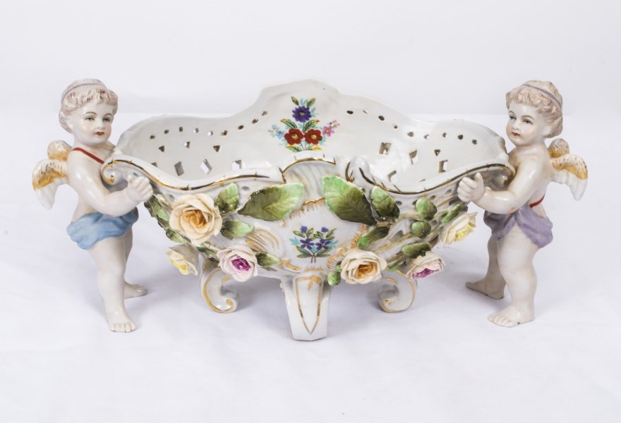 Stunning Dresden Style Porcelain Table Centrepiece | Ref. no. 00560c | Regent Antiques