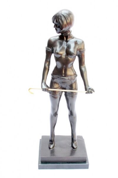 Vintage Bronze Female Dominatrix after Bruno Zach  20th Century | Ref. no. 00805 | Regent Antiques