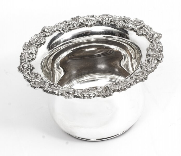 Sheffield Silver Plated English Wine Coaster | Ref. no. 01447A | Regent Antiques