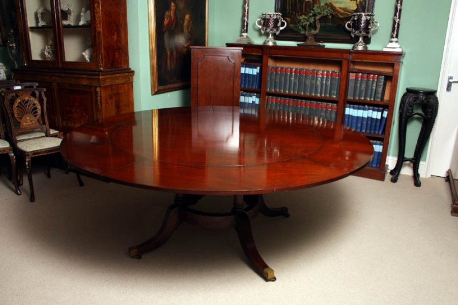 6ft round mahogany jupe dining table leaf cabinet for 6 foot round dining table